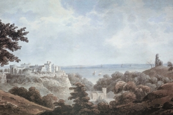 St Donats Castle by Thomas Hornor